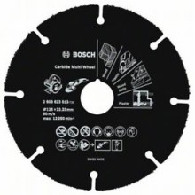 BOSCH Multi Wheel Rozbrušovací kotouč z tvrdokovu, 125mm 2.608.623.013