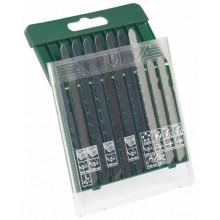 BOSCH 10dílná kazeta s pilovými plátky na dřevo/kov/plast (stopka T) 2.607.019.461
