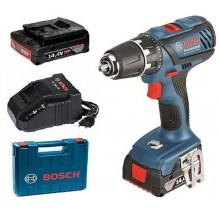 BOSCH GSR 14,4-2-LI Plus Professional aku vrtačka 2x4Ah Li-Ion L-BOXX 136 0.601.9E6.021