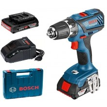 BOSCH GSR 18-2-LI Plus Professional aku vrtačka 2x4Ah Li-Ion L-BOXX 0.601.9E6.121