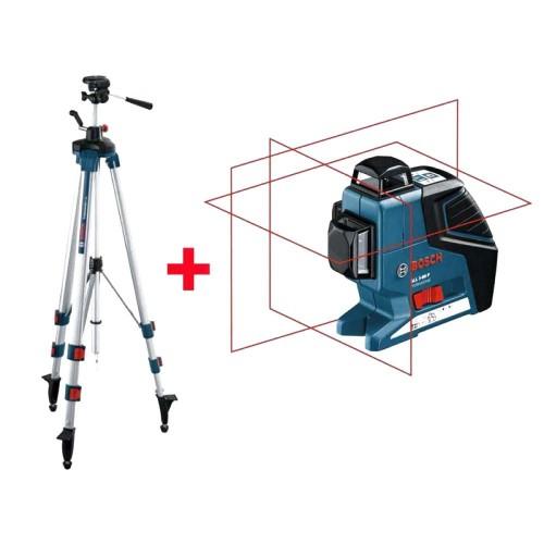 BOSCH GLL3-80P Laser + Stativ BT 250 0.601.063.30B