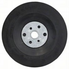 BOSCH Opěrný talíř pro fíbrové brusné papíry včetně matice, 115mm 2.608.601.005