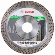BOSCH Best for Hard Ceramic Diamantový dělicí kotouč, 125 x 22,23 x 1,4 x 10 mm 2608615077