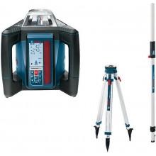 BOSCH GRL 500 H set rotačný laser + statív BT 170 HD + meracie lata GR 240 0.615.994.0EE