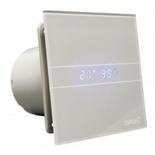 CATA E-100 GSTH koupelnový ventilátor axiální s automatem, 8W, potrubí 100mm,stříbrná 00900600