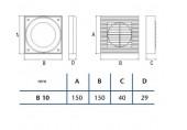 CATA Okenní souprava B-10 01910000