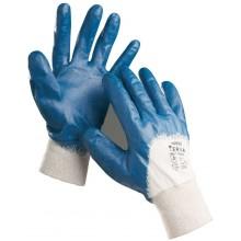 ČERVA HARRIER Ochranné rukavice máčené v nitrilu, vel. 10