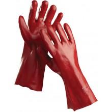 ČERVA REDSTART 45 Ochranné rukavice celomáčené v PVC, vel. 10