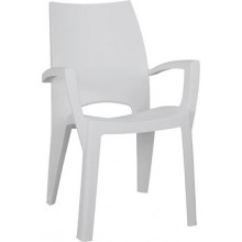ALLIBERT SPRING zahradní židle, světle šedá 17186172