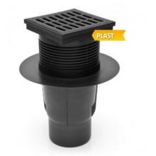Kanalizační vpusť spodní D 110 (KVS110S-P) suchá, plast 327S-P