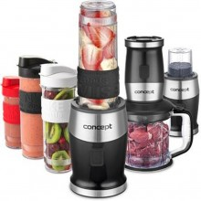 CONCEPT SM3390 Fresh&Nutri smoothie mixér, chopper, mlýnek, 700 W + láhve 2 x 570 ml + 400 ml