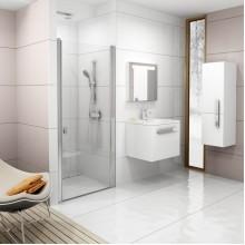 RAVAK CHROME CSD1-80 sprchové dveře, bright alu+Transparent 0QV40C00Z1