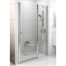 RAVAK Chrome CSD2-100 sprchové dveře, white+Transparent 0QVAC100Z1