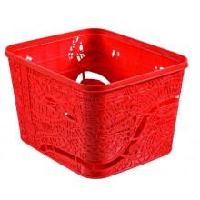 CURVER úložný box City London, 35 x 30 x 22 cm, červená, 00273-T39