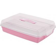CURVER PARTY BOX s poklopem 45 x 29,5 x 11,1 cm růžový 00415-X51