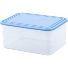 CURVER Dóza na potraviny, 22,5 x 16,5 x 10,8 cm, 3L, transparentní/modrá 03874-084