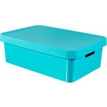 CURVER INFINITY úložný box 30 L 56 x18 x 39 cm modrý 01718-X34