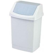 CURVER CLICK IT 25L odpadkový koš 26,5x32,5x50,5cm luna/stone 04044-591