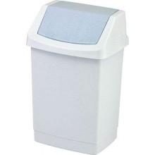 CURVER CLICK odpadkový koš s víkem 15 L luna 04043-591