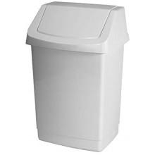 CURVER CLICK IT 15L odpadkový koš 23,5x28x43,8cm bílý 04043-026