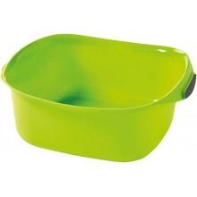 CURVER umyvadlo čtverec 10 l, zelená 02337-590