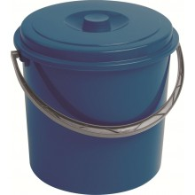 CURVER kbelík s víkem 10 l modrý 03206-287
