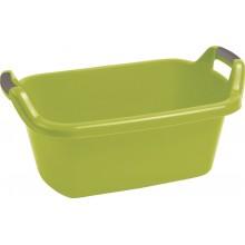 CURVER vanička oválná s uchy 35 l zelená 03315-704