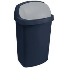 CURVER ROLL TOP 10L Odpadkový koš 24x21,5x41,5cm modrý 03974-266