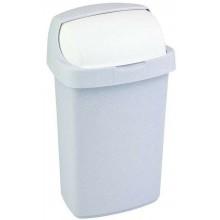 CURVER ROLL TOP Odpadkový koš 34,9x29,2x56cm 25l šedý 03976-856
