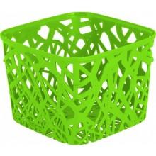 CURVER NEO SQUARE košík 19,2 x 19,2 x 14,4 cm zelený 04160-598