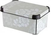 CURVER ROMANCE S box úložný dekorativní 29,5 x 19,5 x 13,5 cm 04710-D64