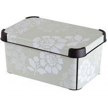 CURVER ROMANCE S box úložný dekorativní 29,5 x 13,5 x 19,5 cm 04710-D64