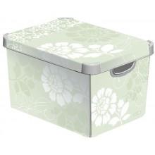 CURVER ROMANCE L box úložný dekorativní 39,5 x 29,5 x 25 cm 04711-D64
