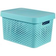 CURVER INFINITY 17L úložný box 36 x 22 x 27 cm modrý 04742-X34
