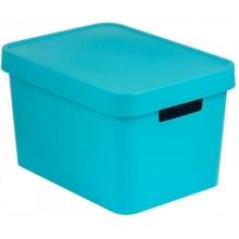 CURVER INFINITY 17L úložný box 36 x 22 x 27 cm modrý 04743-X34