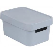 CURVER INFINITY 4,5L úložný box 27 x 12 x 19 cm šedý 04746-099