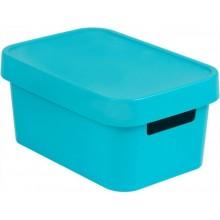 CURVER INFINITY 4,5L úložný box 27 x 12 x 19 cm modrý 04746-X34