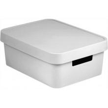 CURVER INFINITY 11L úložný box 36 x 14 x 27 cm bílý 04752-N23