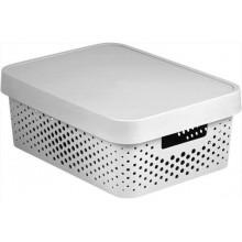 VÝPRODEJ CURVER INFINITY úložný box 11 L bílý 04753-N23, BEZ VÍKA