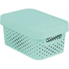 CURVER INFINITY úložný box 4,5 L 27 x 12 x 19 cm mint 04760-Q29