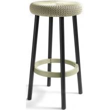 CURVER KNIT barová stolička plast krémová 09024-X64