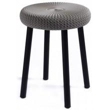 CURVER KNIT stolička plast hnědá 09023-X59