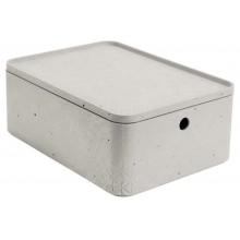 CURVER BETON M 8L úložný box s víkem 34x25x13cm 04777-021