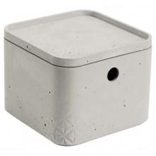 CURVER BETON XS 3L úložný box s víkem 17x17x13cm 04775-021