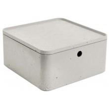 CURVER BETON L 8,5L úložný box s víkem 28x28x14cm 04778-021