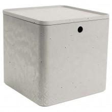 CURVER BETON XL 18L úložný box s víkem 28x28x27cm 04779-02
