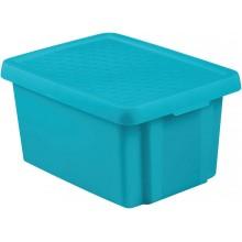 CURVER ESSENTIALS 16L úložný box 39 x 30 x 21 cm modrý 00753-656