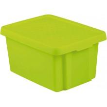 CURVER ESSENTIALS 16L úložný box 39 x 30 x 21 cm zelený 00753-598