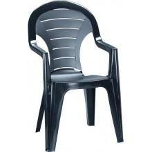 CURVER BONAIRE zahradní židle, grafit 17180277