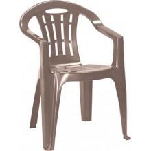 CURVER MALLORCA zahradní židle, 56 x 58 x 79 cm, Cappuccino 17180335
